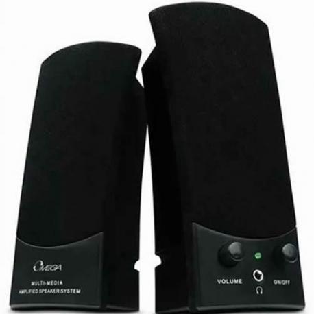 Parlantes Omega de 6 watts conexión USB
