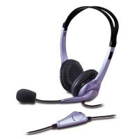 Diadema con micrófono de un solo plug Genius HS-04S