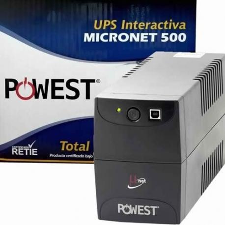 UPS de 500 VA Powest MICRONET 500
