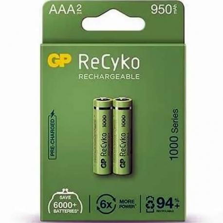 Pilas recargables AAA (Paquete x 2 unidades)