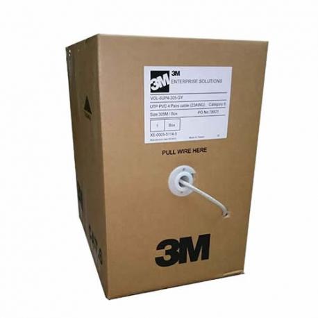 Cable UTP de categoría 6 marca 3M