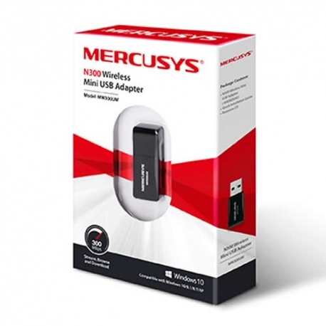 Mini-Adaptador de red USB TP-LINK MW300UM